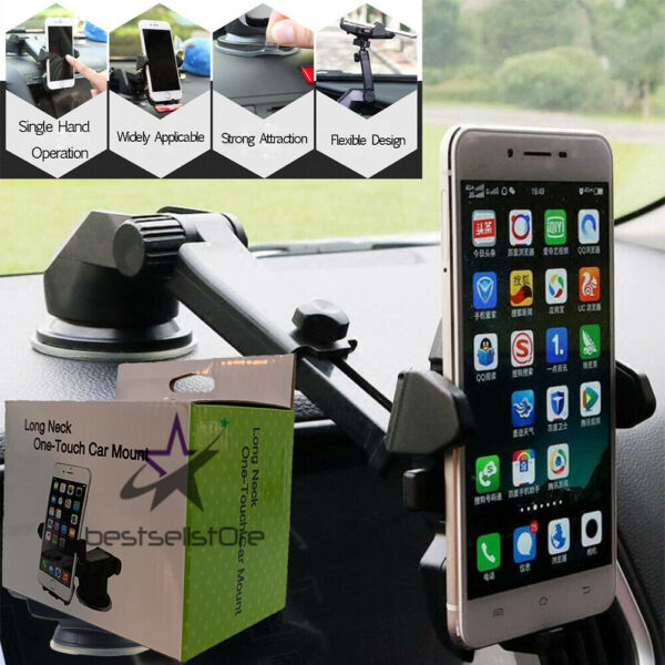 360° Mount Holder Car Windshield Stand For Mobile Cell Phone GPS $8.98