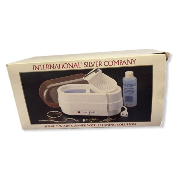International Silver Company Sonic Electric Jewelry Cleaner Tested amp; Works $12.00
