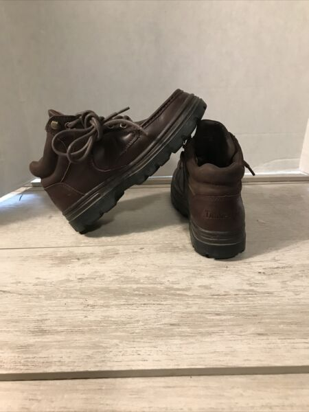 Timberland Boys Brown Boots Size 6 1 2 M $23.00
