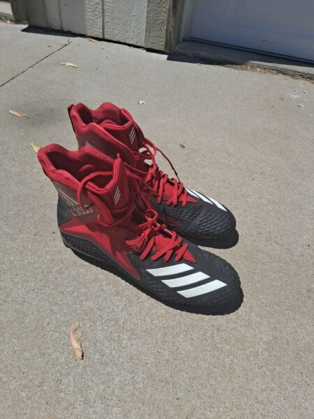 adidas Freak x Carbon High Football Cleats Men#x27;s Size 16 Red $20.00