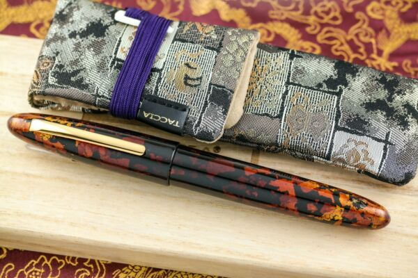 Taccia Miyabi Collection: Amber Crystal Fountain Pen #15 30