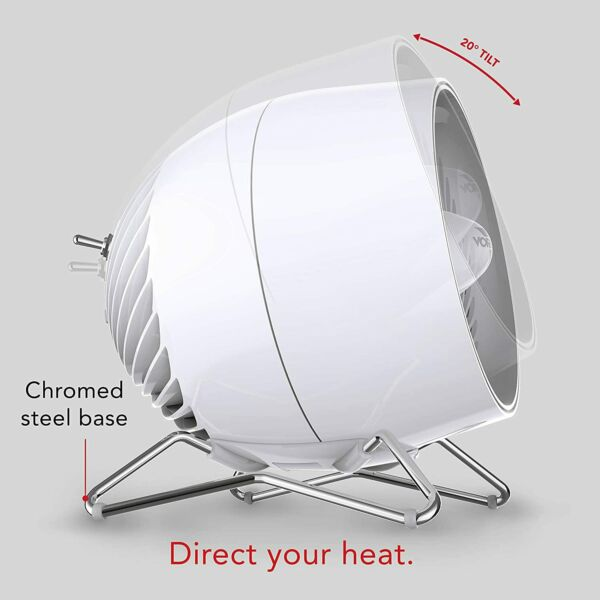 Pivot Heat Electric Space Heater with 20 Degrees of Tilt Adjustable Thermostat $79.99