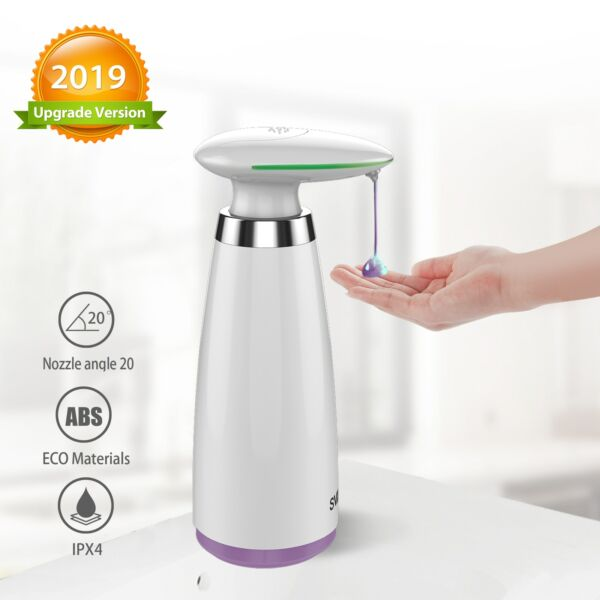Dispenser Automatic Of Soap Of 11.8oz Dispenser Soap Liquid Hands Handsfree