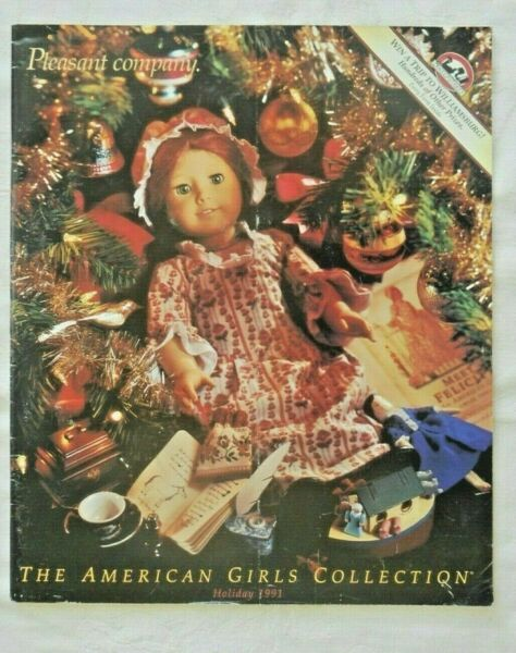 THE AMERICAN GIRLS COLLECTION CATALOG PLEASANT COMPANY HOLIDAY 1991