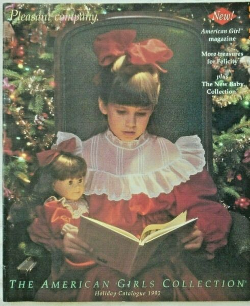 THE AMERICAN GIRLS COLLECTION HOLIDAY 1992 CATALOG FROM PLEASANT COMPANY