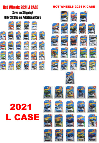 Hot Wheels 2021 Spring Cars H J K L CASE 🔥 You Pick Save on Shipping $1 July28 $3.99