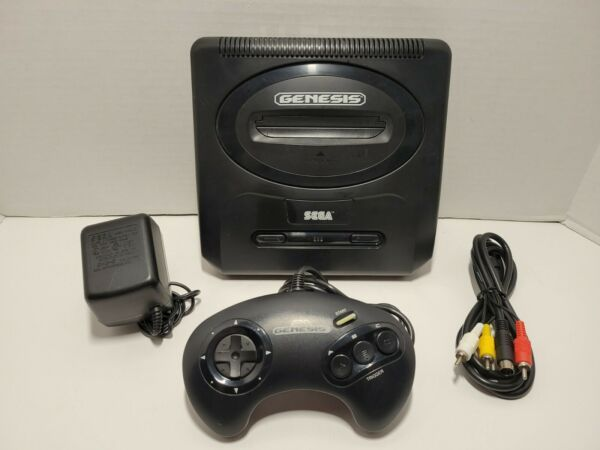 Sega Genesis Model 2 System Console with Controller and Cables $65.00