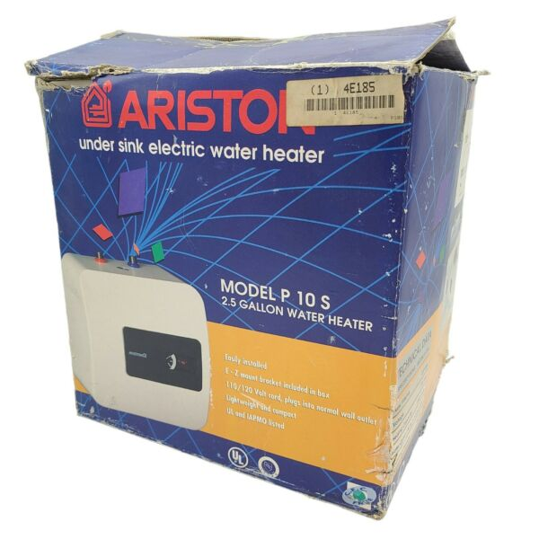 Ariston P10S P 10 S 2.5 Gallon Electric Water Heater Compact Under Sink OLD STCK $169.95