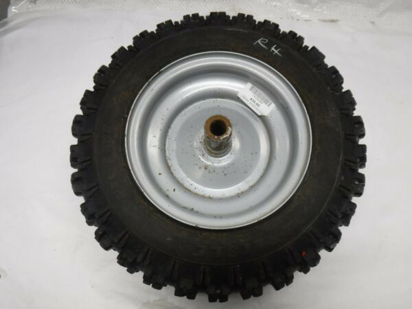 RH rim and tire off of Simplicity snow blower 1694440 Part Number: 1714242SM