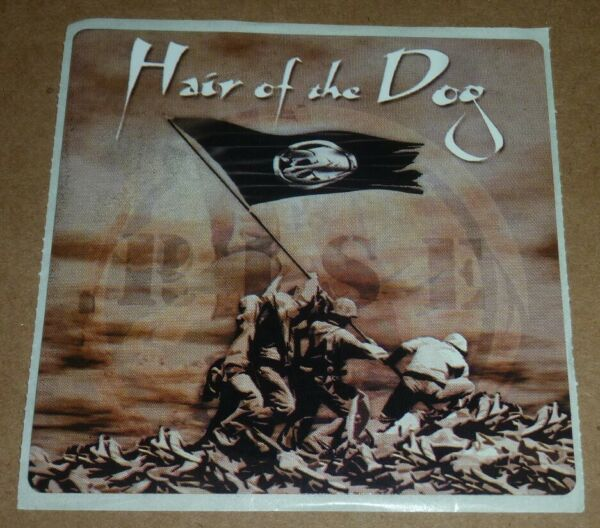 HAIR OF THE DOG band STICKER hard rock heavy metal $8.00