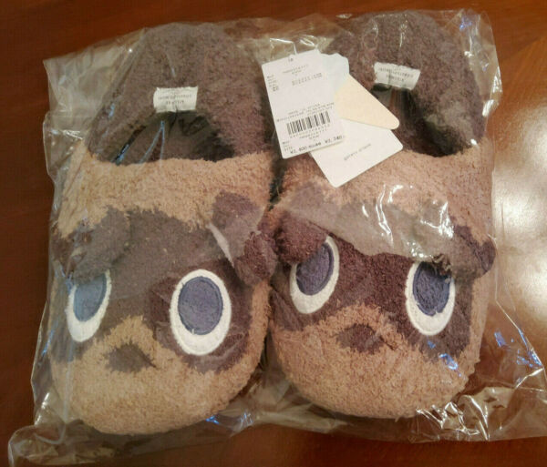 Animal Crossing Gelato Pique Tsubumame Room Shoes Slippers Timmy Tommy Women $75.00