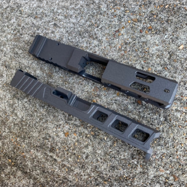 NEW Slide for G19 GEN3 RMR slide with window ports tungsten ELITE $280.00