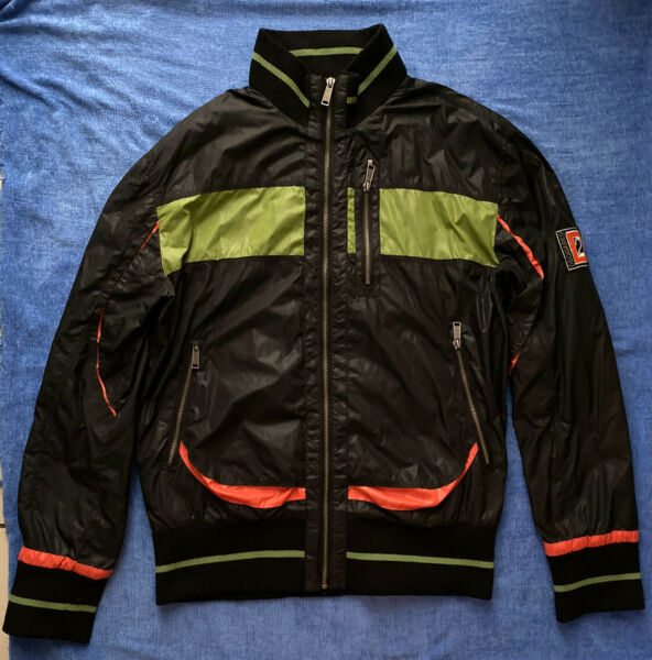 dsquared2 jacket mens bomber Made in Italy size L $120.00