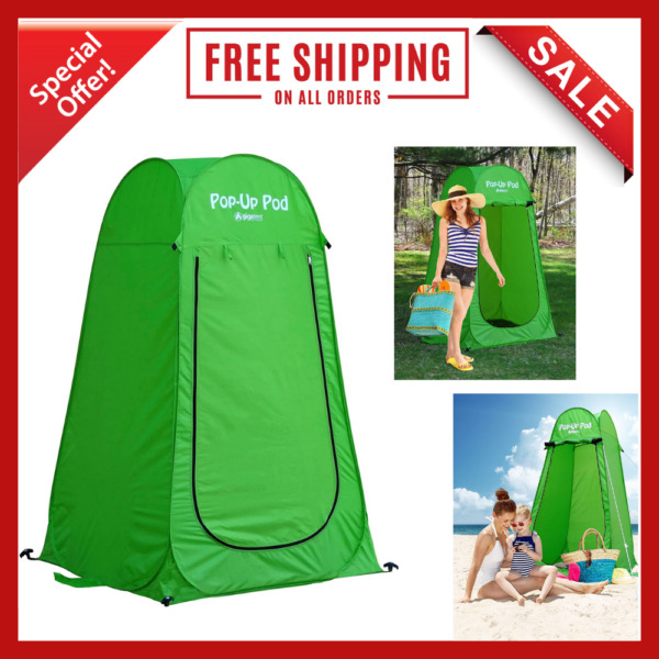 Pop Up Pod Changing Room Camp Privacy Tent Instant Portable Outdoor Tent Shower $30.78