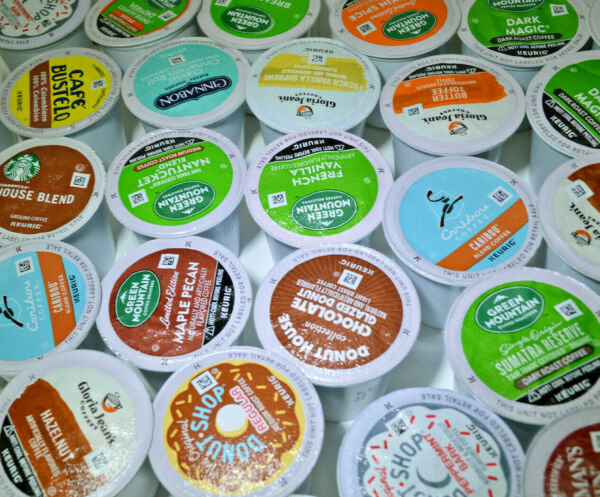 72 Keurig Flavored Coffees K Cup Pods Collections. Various flavors