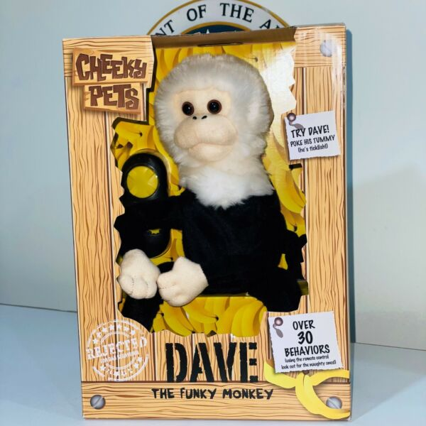 Cheeky Pets Dave The Funky Monkey Minor Dog Smell Read Description $42.98