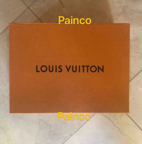 Authentic LOUIS VUITTON LV Gift Box Magnetic Empty Large Box 14x 10x 5 inches