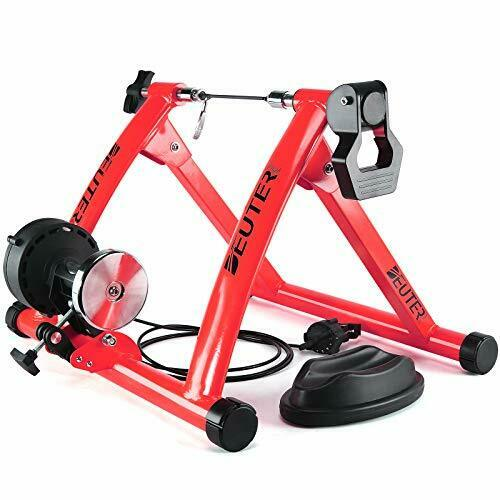 Bike Trainer Magnetic Bicycle Stationary Stand for Indoor Exercise Riding $123.82