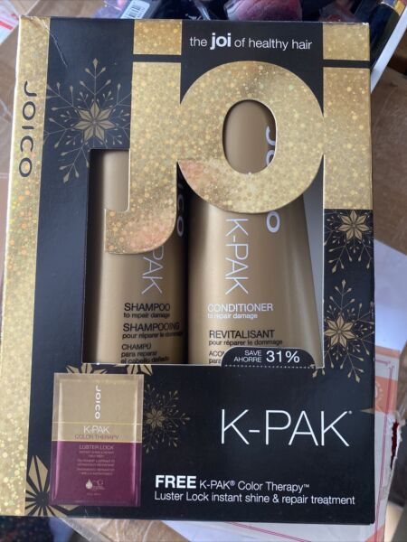 Joico K Pack Color Therapy Kit Shampoo Condition amp; Luster Lock New in box