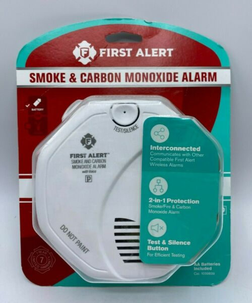 First Alert SC0500 Battery Operated Smoke and Carbon Monoxide Alarm $24.95