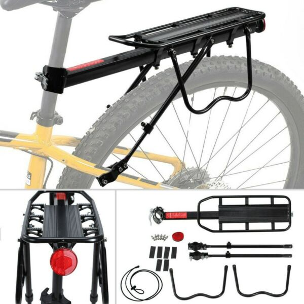 Bike Bicycle Quick Release Carrier Rear Rack Luggage Seat Post Pannier US $15.75