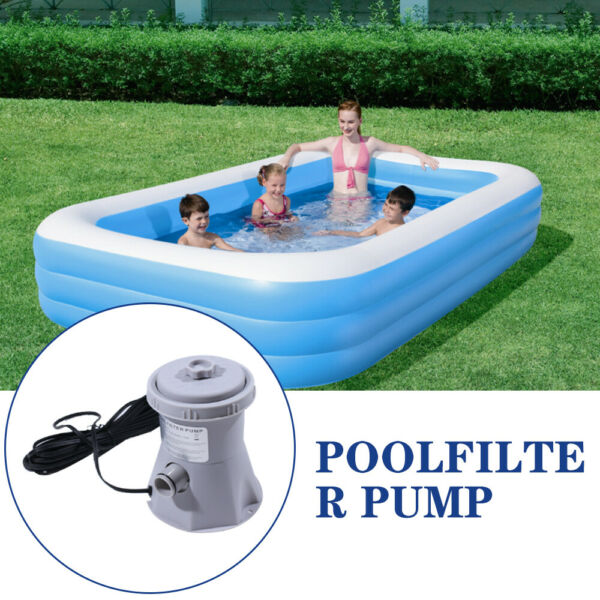 300GAL 110V Electric Filter Pump Set For Swimming Pool Water With Cartridge USA $49.38