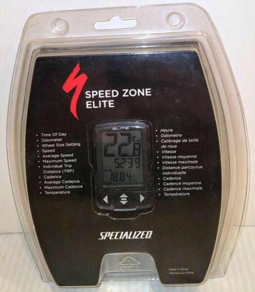NEW Speed Zone Elite Specialized Bike Bicycle Cyclocomputer Cycling Computer $99.99