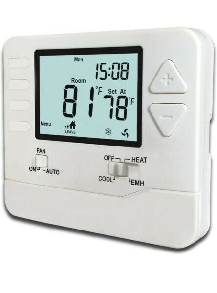 Heagstat H725 5 1 1 Day Programmable Heat Pump Thermostat 2 Heat 1 Cool With 4 $34.99