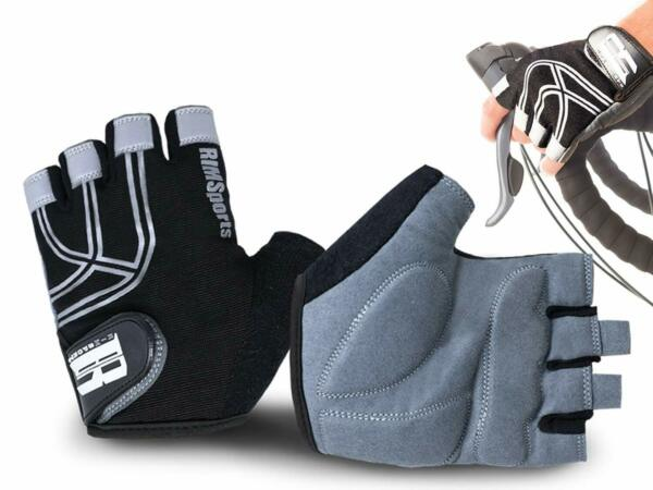 Cycling Reflective Mountain Bike Riding Road Bike Gloves with Microfiber Thumb $15.99