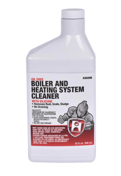 Oatey 35206 Quart Boiler amp; Heating System Cleaner with Leak Protection $17.88