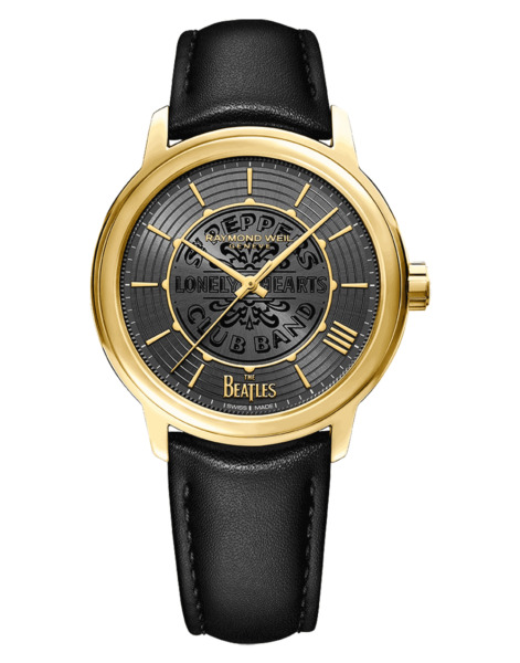 Raymond Weil Maestro The Beatles Sgt. Pepper#x27;s Limited Edition Gold Mens Watch $599.99