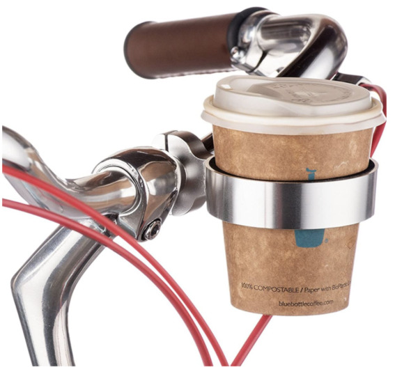 Cycling Bike Water Bottle Holder Mount Handlebar Bicycle Coffee Cup Drink Holder $12.99