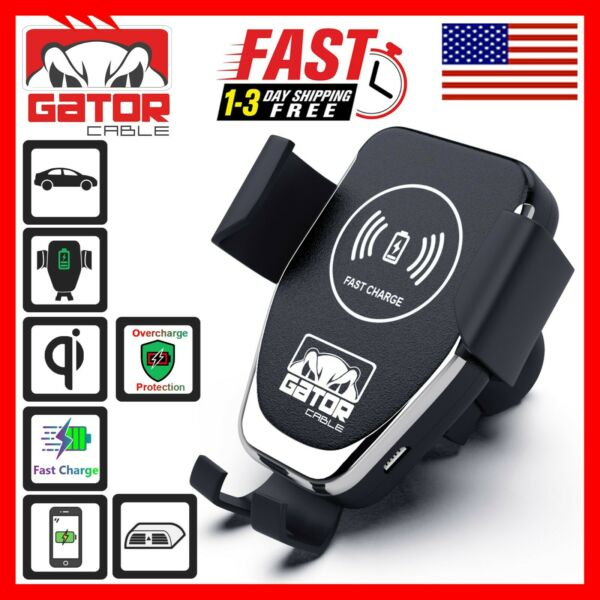 Qi Wireless Car Phone Charger Air Vent Mount Holder Quick Charge 10W Universal $8.99