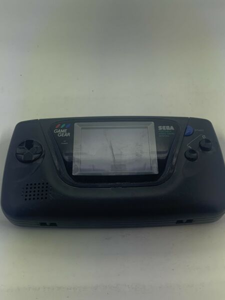 Sega Game Gear Handheld Console Black Parts Repair *AS IS* PARTS ONLY Powers on