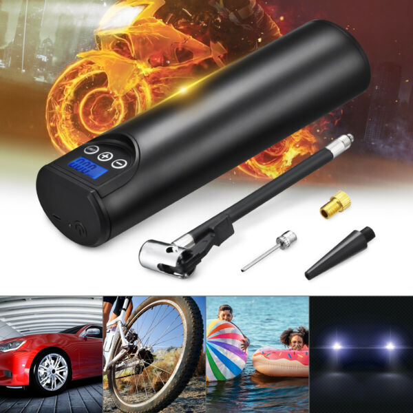 Cordless 12V Tire Inflator Car Air Pump Compressor 150 PSI Electric Rechargeable