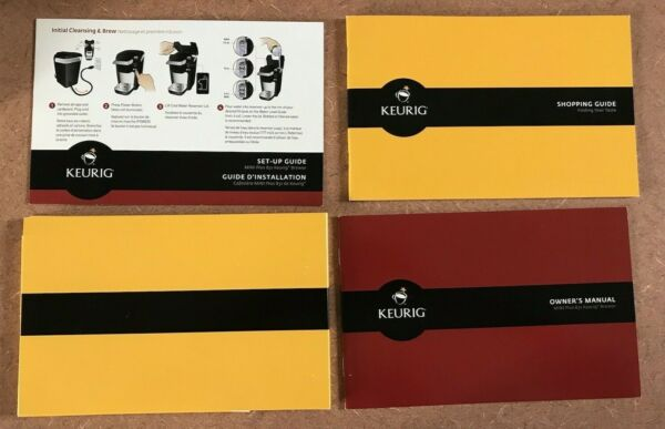 Keurig Mini Plus B31 Single Cup Owner#x27;s Manual Shopping Guide Set Up Guide