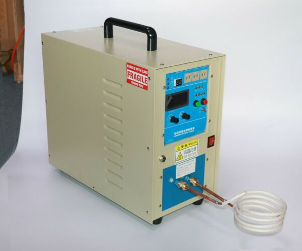 380V 20KW High Frequency Induction Heater Furnace 30 100KHz $999.00
