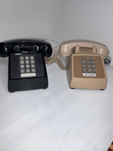 Vintage push button desk telephone Western Electric Not Tested $29.99