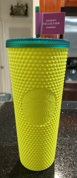 🍍 NEW Starbucks Hawaii Exclusive 2020 Pineapple Matte Studded Cup 🍍