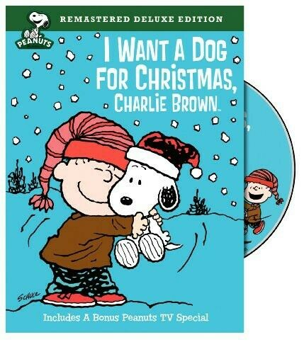 Peanuts: I Want a Dog for Christmas Charlie Brown Deluxe Edition AMAZING DVD $6.95