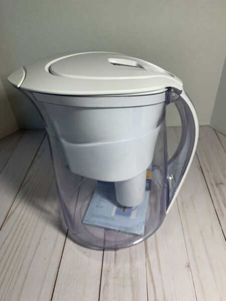 Brita Water Filtration Pitcher Model OB46 OB03 Clear With White Lid