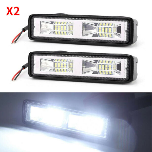 2x 48W 6quot; Fog Light for Car Motorcycles Off road Vehicles Auxiliary Spotlights $12.49