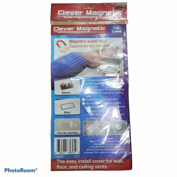 Clever Magnetic Vent Cover Wall Floor Ceiling $15.29