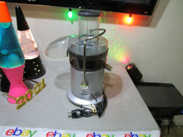 Working Breville Juicer JE98XL Juice Fountain Centrifugal Juicer 2 Speed