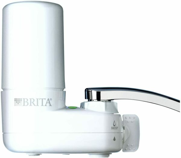 Brita Basic Faucet Water Filter System White 1 Count 35214 NEW FREESHIP