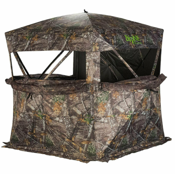 Rhino Blinds R150 MOC Durable 3 Person Outside Hunting Ground Blind Mossy Oak $83.99