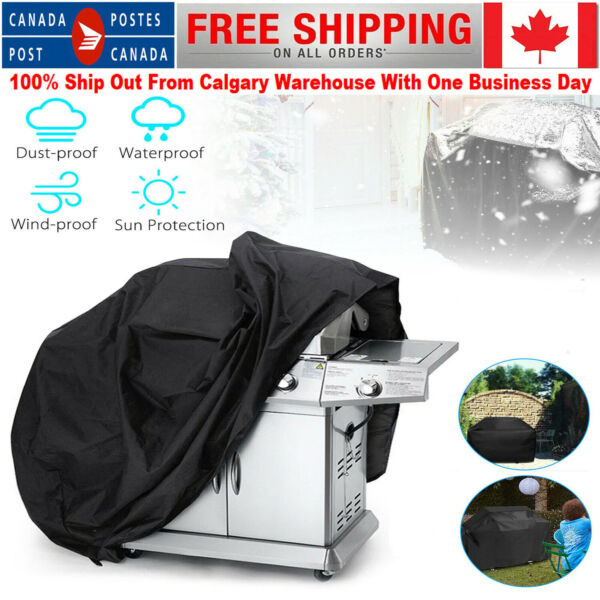 Waterproof BBQ Cover Heavy Rain Gas Barbeque Smoker Grill Garden Protector 57quot;