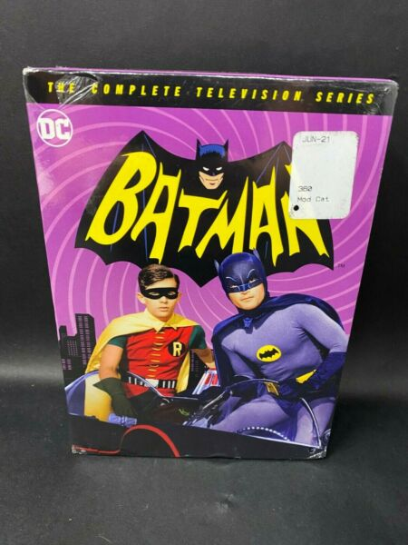 BATMAN The Complete Television Series DVD w Adam West fully remastered New