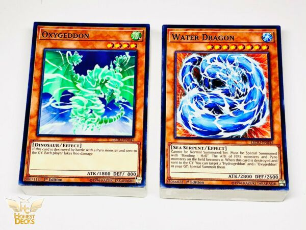 Yugioh GX Complete Bastion Deck Duoterion Hydro Oxygeddon Water Dragon $24.99