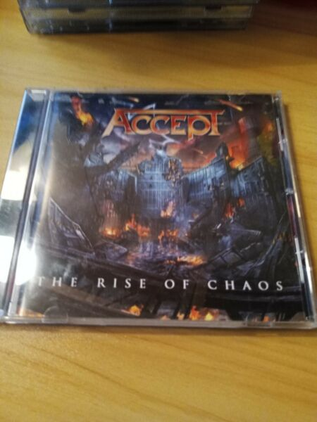 Accept The Rise Of Chaos CD Used